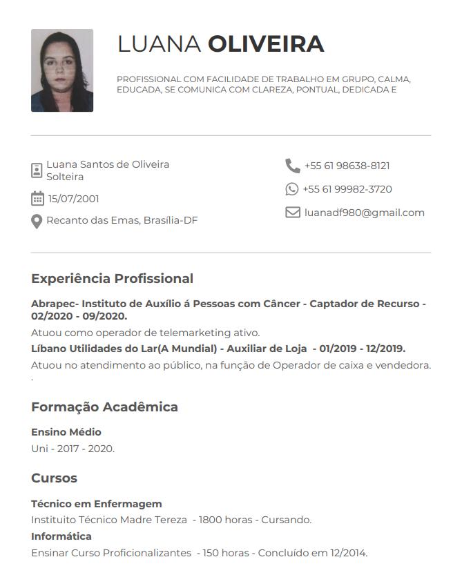 Luana Oliveira